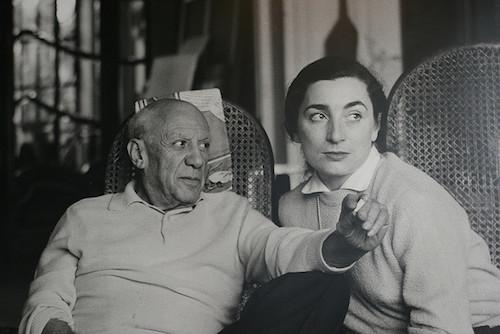 Picasso y Jacqueline