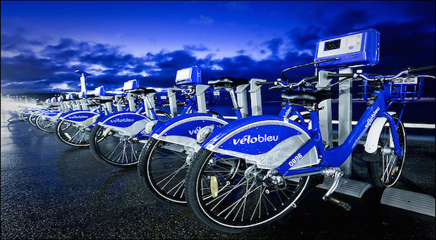 Velobleu alquiler bicicleta Niza