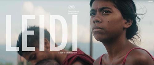 Palma al mejor cortometraje: Leidi