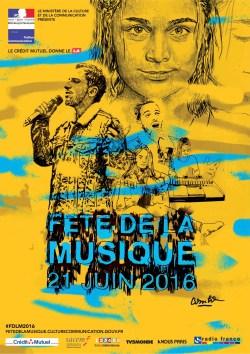 Fiesta de la Musica 2016 Francia