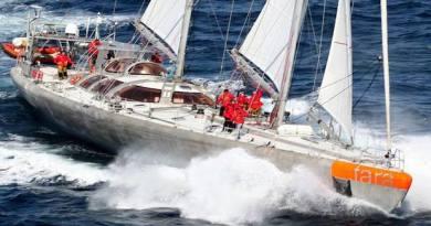 La expedición Tara se despide de Antibes