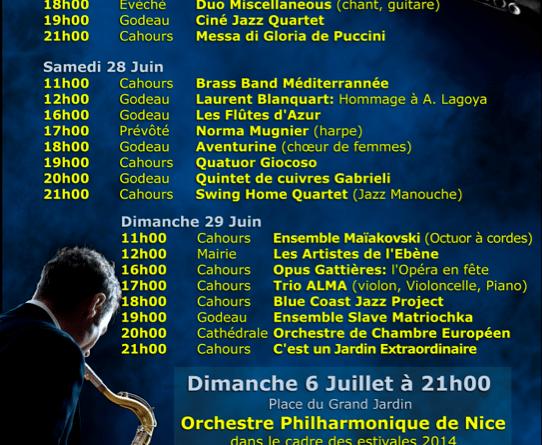 programa festivence 2014