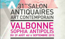 Salon Antiguedades Valbonne 2015