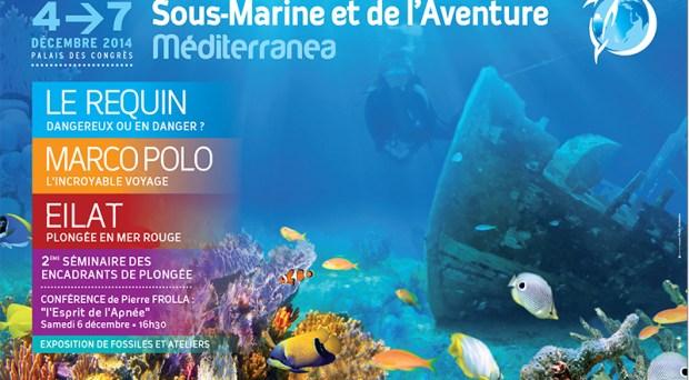 El Palacio de Congresos de Juan-les Pins acoge la nueva edición del Festival Méditerranea, de la imagen submarina y la aventura.