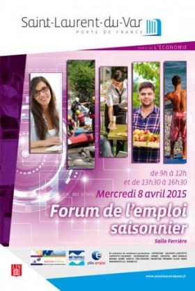 Foro de empleo temporal Saint Laurent du Var