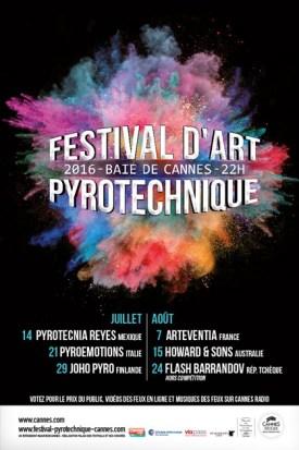 Los fuegos artificiales más espectaculares se dan cita en el Festival de Artes Pirotécnicas 2016 en Cannes. En el programa...
