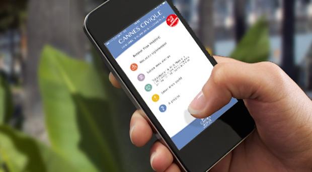 Una aplicación móvil para denunciar las irregularidades en Cannes