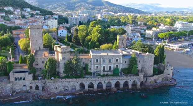 Chateau La Napoule_Hubble Vista Dron