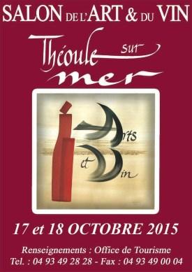 Salon Artes y Vino Theoule