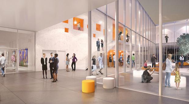 Interior centro cultural Mougins