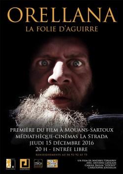 """El cine La Strada de Mouans-Sartoux acoge el estreno del cortometraje """"Orellana, la locura de Aguirre"""", sobre los incas y los conquistadores españoles..."""