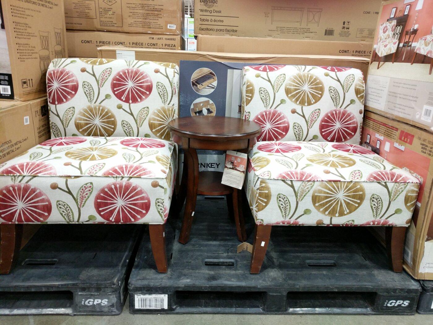 Avenue Six 3 Piece Chair U0026 Table Set