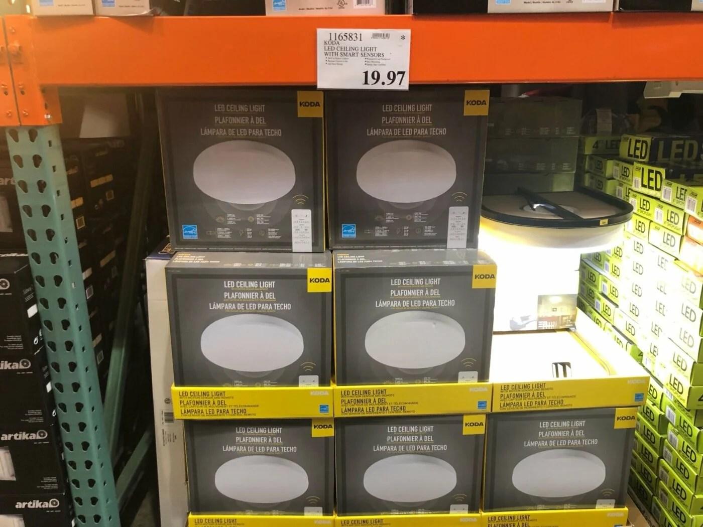 koda led ceiling light with smart