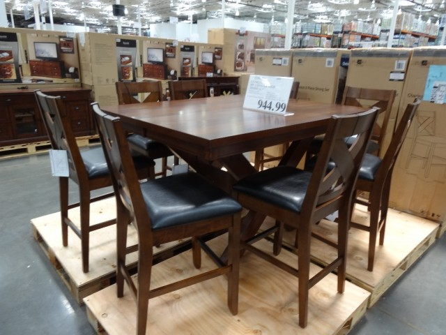 Charleston 9-Piece Counter Height Dining Set