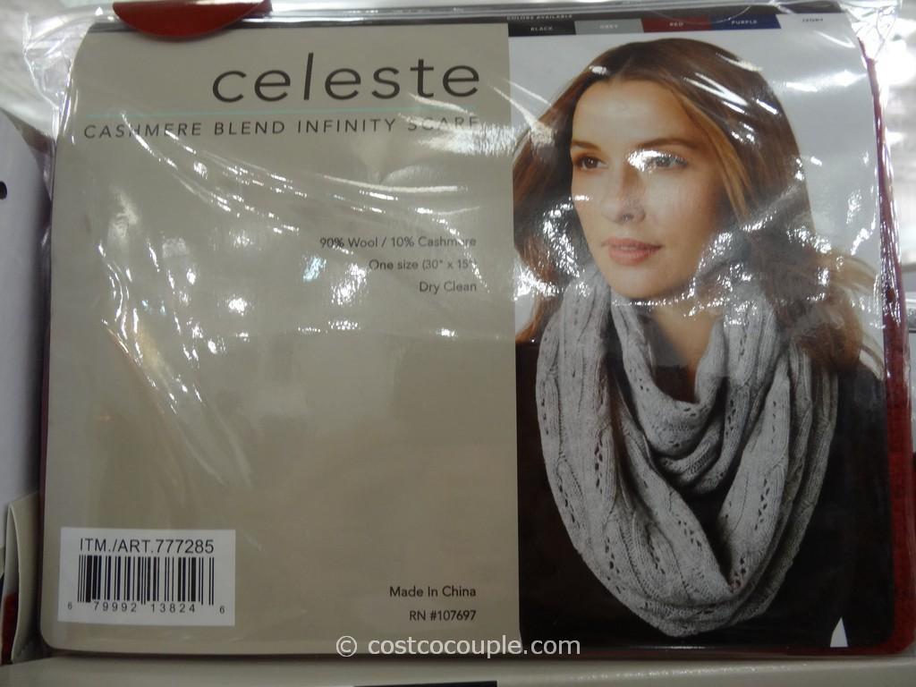 Celeste Cashmere Blend Infinity Scarf
