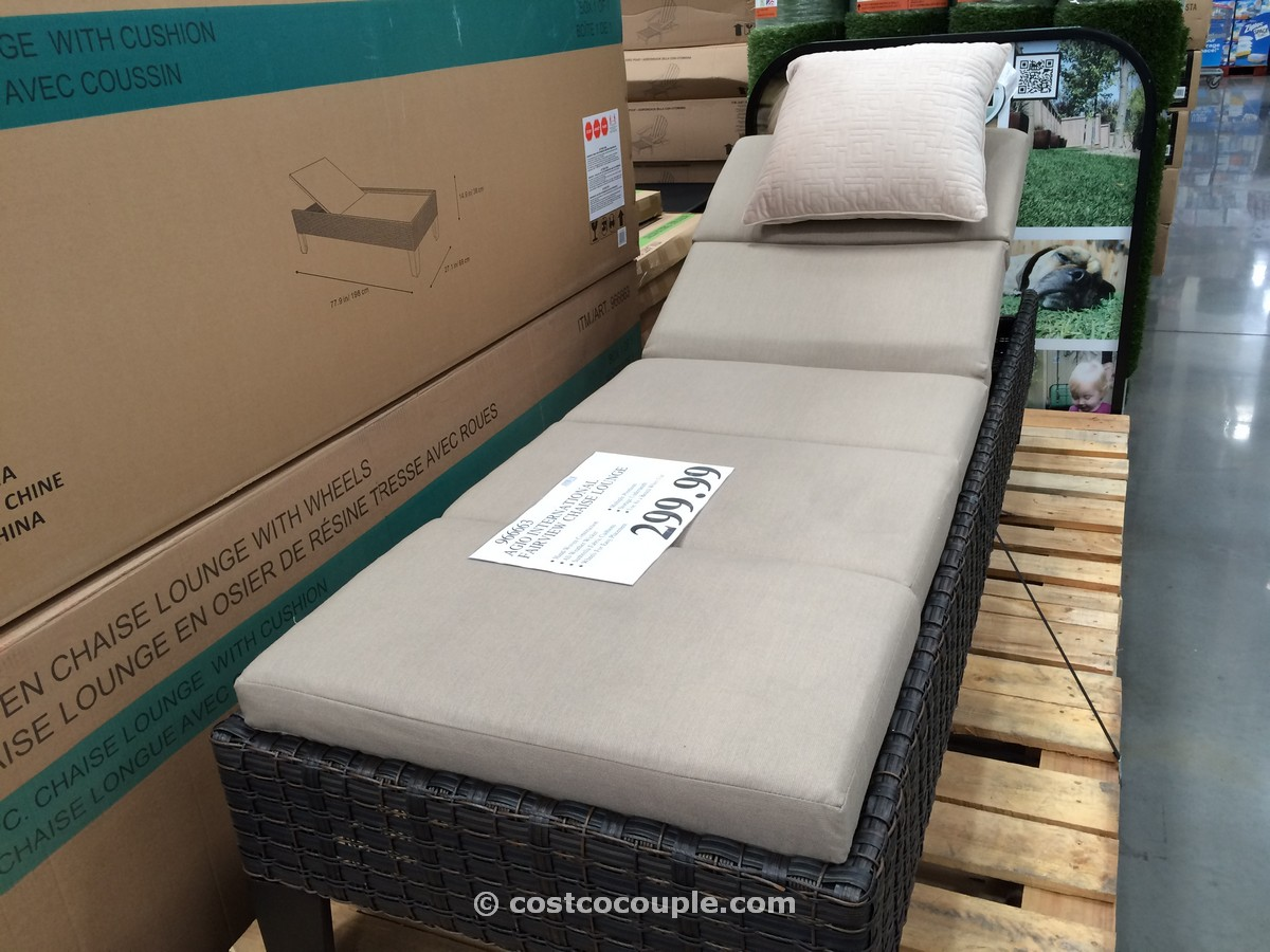 - Costco Outdoor Chaise Lounge Cushions. Costco Outdoor Furniture