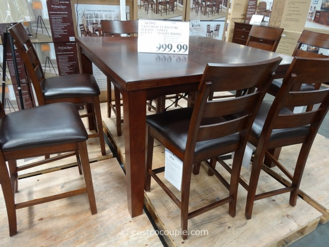 Universal Furniture Serada 9-Piece Counter Height Dining Set