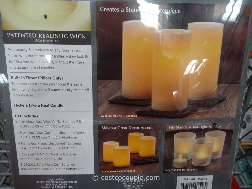 Flameless Tea Lights Costco