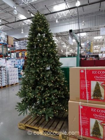EZ Connect 9Ft Pre Lit LED Christmas Tree