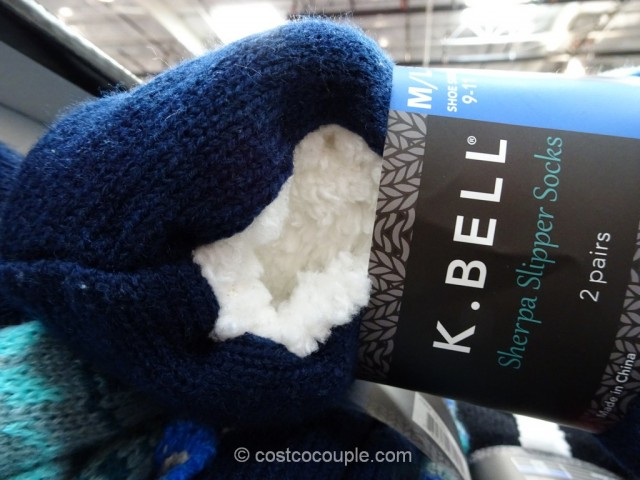KBell Ladies Sherpa Slipper Socks
