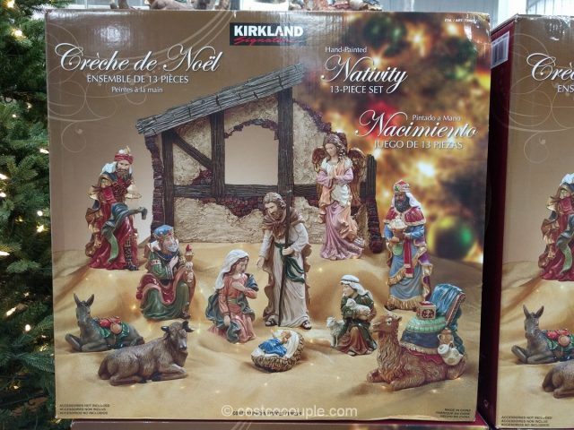 Kirkland Signature 2016 13 Piece Nativity Set