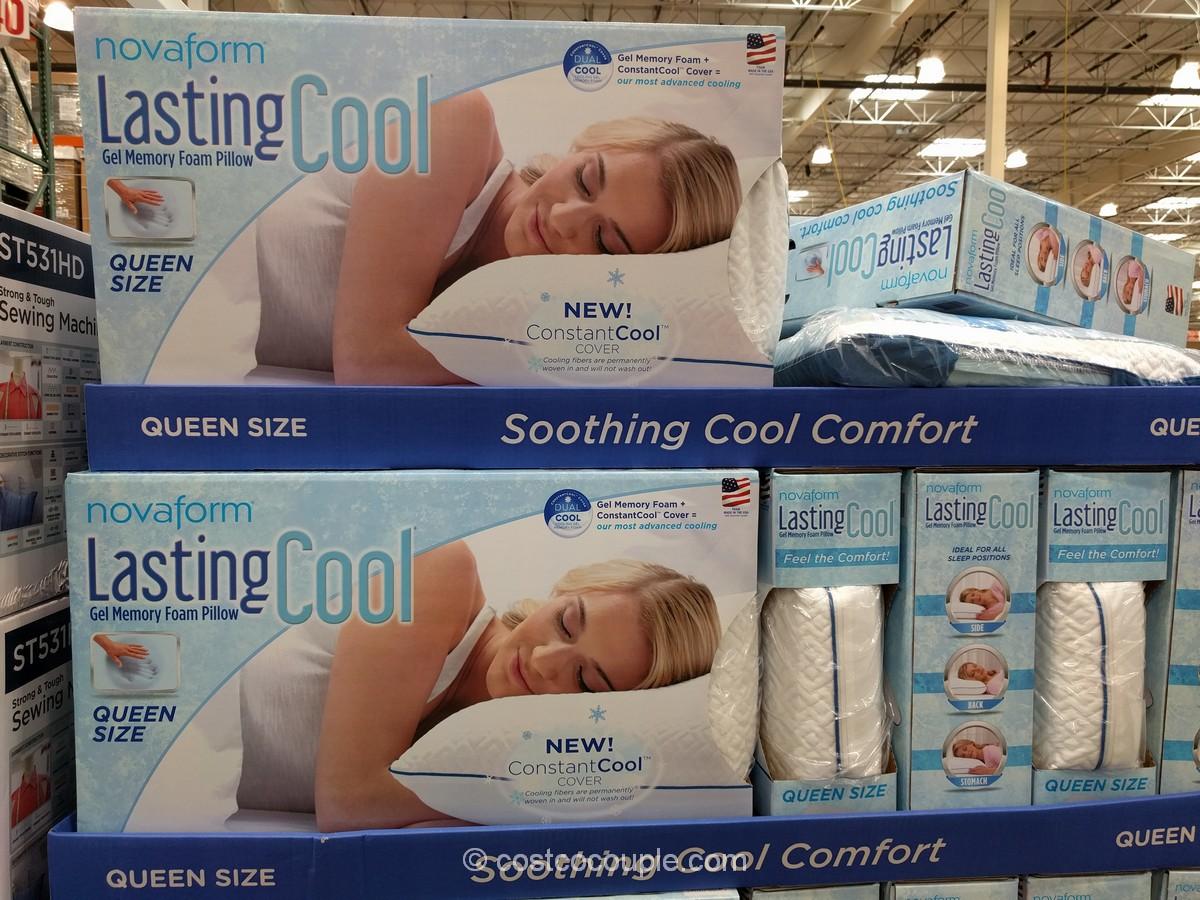 novaform lasting cool pillow costco review