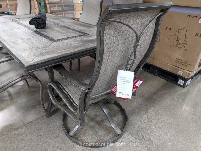 Agio 7 Piece Campbell Sling Dining Set