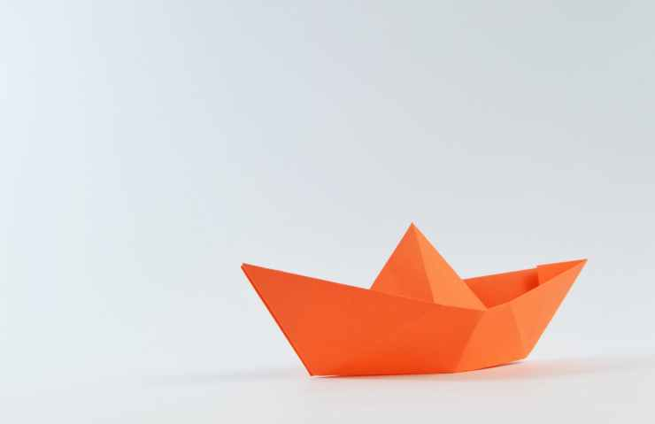 boat ship sailboat paper