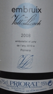 2008 Embuix de Vall Llach Priorat