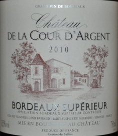 Chateau De La Cour D'Argent Bordeaux