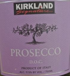 NV Kirkland Signature Prosecco