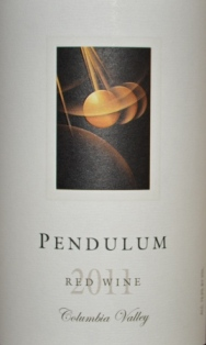 2011 Pendulum Columbia Valley Red Blend