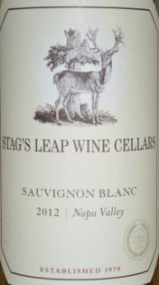 2012 Stags Leap Wine Cellars Sauvignon Blanc