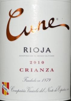 2010 Cune Rioja Crianza