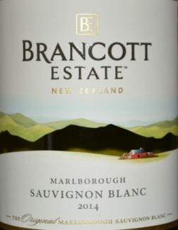 2014 Brancott Estate Marlborough Sauvignon Blanc