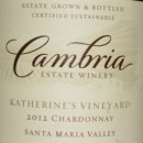 2012 Cambria Katherine's Vineyard Chardonnay