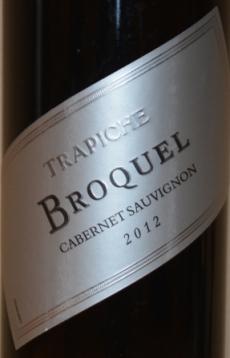 2012 Trapiche Broquel Cabernet Sauvignon