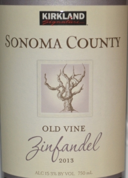 Kirkland Signature Sonoma Zinfandel