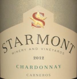 2012 Starmont Carneros Chardonnay