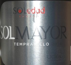 2014 Soledad Ucles Solmayor Tempranillo