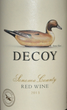 2013 Decoy by Duckhorn Sonoma Red Wine