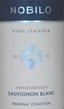 2015 Nobilo Marlborough Sauvignon Blanc