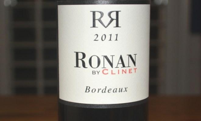 2011 Ronan by Clinet Bordeaux