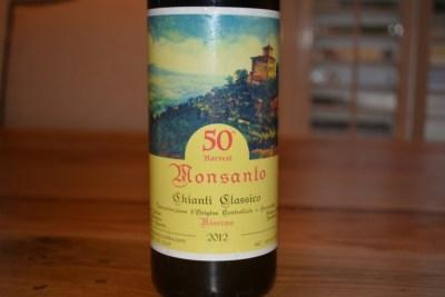 2012 Monsant Chianti