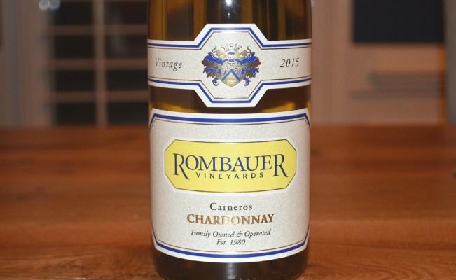 2015 Rombauer Carneros Chardonnay