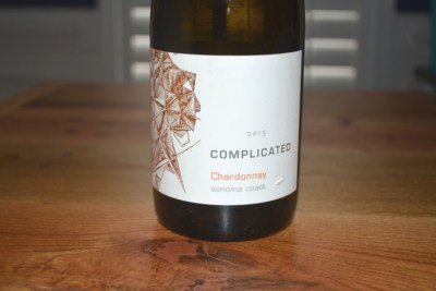 2015 Complicated Sonoma Coast Chardonnay