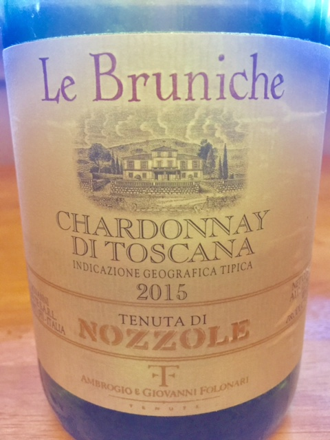 2015 Le Bruniche Tuscan Chardonnay IGT