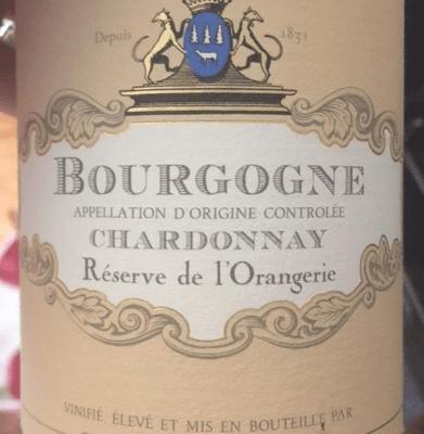 2015 Albert Bichot Chardonnay Bourgogne Réserve de l'Orangerie