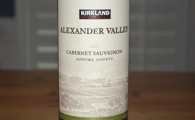 2014 Kirkland Signature Alexander Valley Cabernet Sauvignon