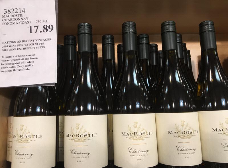 MAcRostie Chardonnay